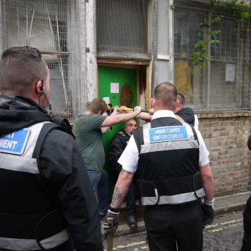 High Court Enforcement Officers Writ of Possession on Squatters London3